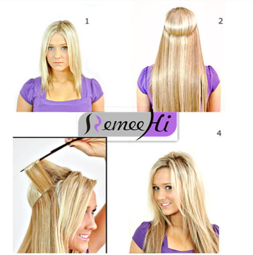 Remeehi 80g flip in thick human remy secret invisible wire secret product pmusecretfo Image collections